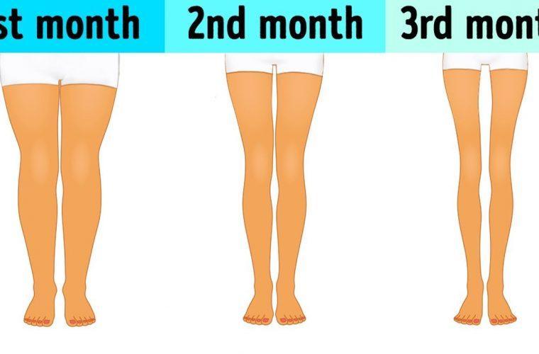 Kάνε αυτό κάθε μέρα, τρία λεπτά πριν πέσεις για ύπνο, για να αποκτήσεις τα πόδια του καλοκαιριού!