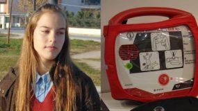 16χρονη μαθήτρια από την Λάρισα έφτιαξε εφαρμογή που εντοπίζει απινιδωτές και σώζει ζωές
