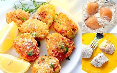Φανταστικό Κοτόπουλο μπουκιές παναρισμένες στο φούρνο !!
