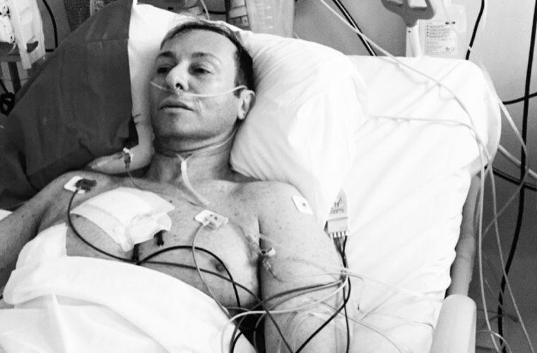 Συγκλονίζει ο Βασίλειος Κωστέτσος, ένα χρόνο μετά την εγχείριση στην καρδιά! (εικόνες)