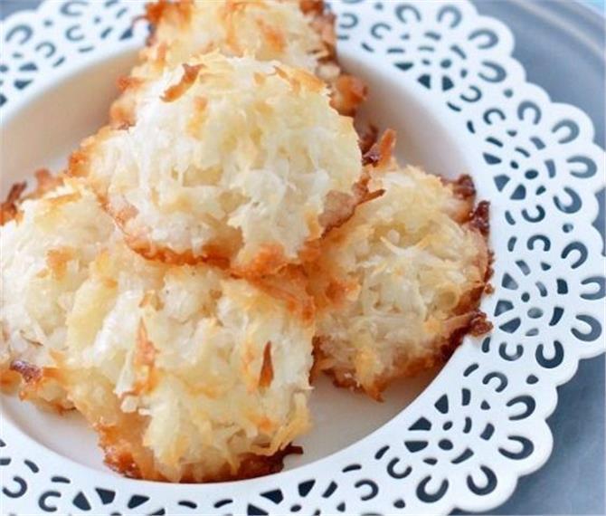 Φτιάξτε μακαρούν καρύδας με μόνο 2 υλικά!!!