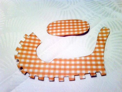 Πώς Να Φτιάξετε Βήμα Βήμα μπομπονιέρες βάπτισης παπουτσάκια Από Χαρτόνι! Οδηγίες + Πρότυπο