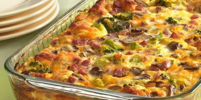 Πεντανόστιμη Ομελετο-πίτσα φουρνιστή !!