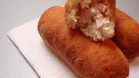 Αφράτα Πιροσκί με γέμιση ζαμπόν -τυρί !!!