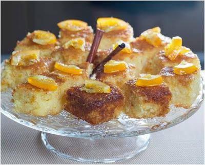 Απίστευτη Πορτοκαλόπιτα τύπου κέικ!!