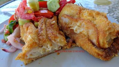 Τέλεια Ρολάκια με τυρί ζαμπόν !! Συνοδευόμενα με καταπληκτική διαφορετική σαλάτα !!