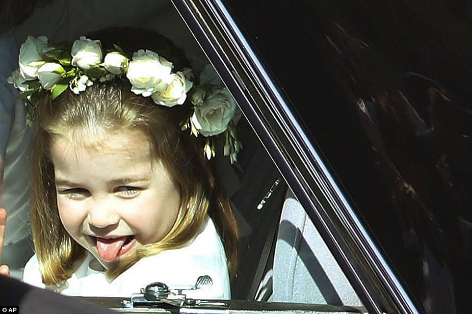 H Σάρλοτ απέδειξε για ακόμη μια φορά οτι δεν είναι απλά μία πριγκίπισσα αλλά μία σταρ