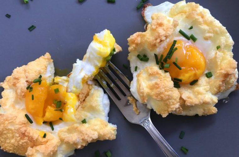 Τα «σύννεφα αυγών» είναι η νέα μόδα στη μαγειρική!