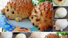 Πως να φτιάξετε εύκολα, ψωμάκια σκαντζοχοιράκια για το παιδικό πάρτυ!