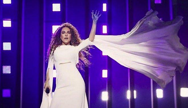 Δείτε το εντυπωσιακό τρικ που θα κάνει η Γιάννα Τερζή στη σκηνή της Eurovision