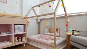 Παιδικό δωμάτιο που βασίζεται στο μοντεσσοριανό σύστημα: Όταν το δωμάτιο εκπαιδεύει