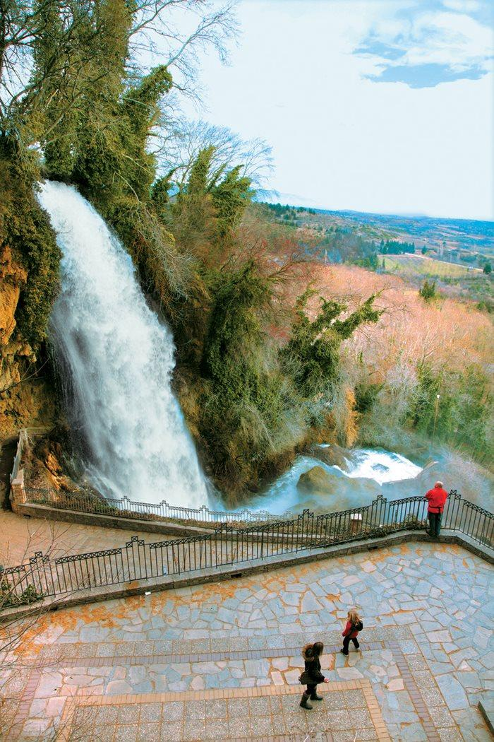 Οι μεγαλύτεροι καταρράκτες των Βαλκανίων, βρίσκονται στην Έδεσσα