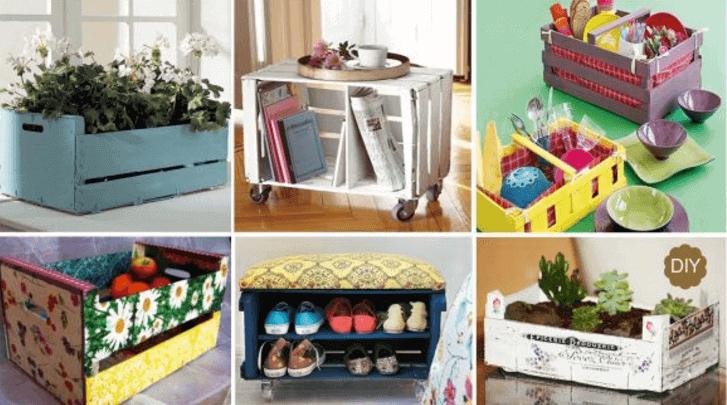 6+1 διασκεδαστικές κατασκευές με κουτιά, απλές και πρακτικές