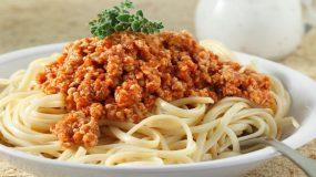 Μακαρόνια Bolognese με κιμά κοτόπουλου: μια υπέροχη συνταγή για τα παιδάκια μας!