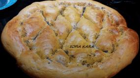 ΑΝΑΤΟΛΙΤΙΚΟ ΨΩΜΙ-ΛΑΓΑΝΑ! Πεντανόστιμο ψωμάκι!