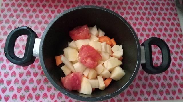 Λαχανοσουπίτσα ελαφριά και με πολλές βιταμίνες για βρέφη