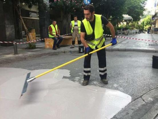 Τι είναι ο «λευκός δρόμος» και γιατί απέτυχε παταγωδώς στο κέντρο της Αθήνας - Τι πήγε στραβά (Photos)