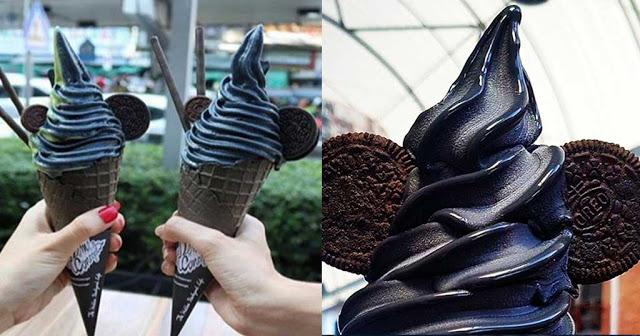 Κυκλοφορεί για πρώτη φορά ελληνικό μαύρο παγωτό στην Ελλάδα