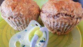 Μάφινς χωρίς ζάχαρη και γλυκαντικά για παιδάκια και μωρά