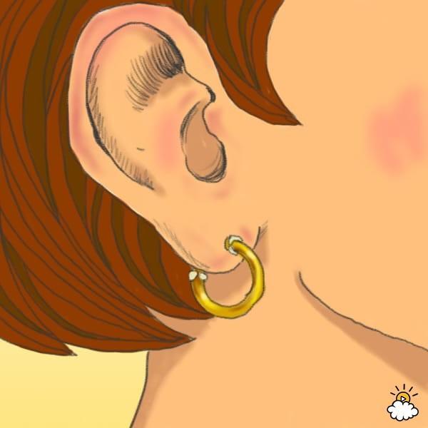 Για αυτόν το λόγο το πίσω μέρος από τα σκουλαρίκια μυρίζει άσχημα!