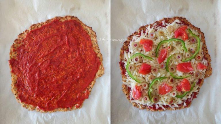 Υγιεινή πίτσα με βάση από κινόα για τα παιδάκια!