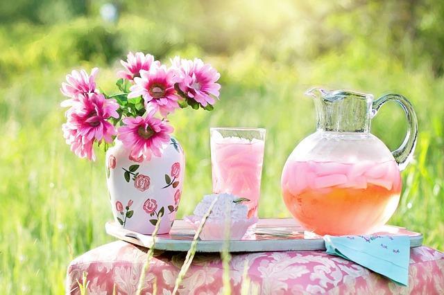 Ροζ λεμονάδα για παιδικό πάρτυ ή βάπτιση από την Αργυρώ Μπαρμπαρίγου!