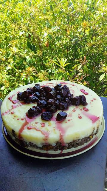 Εντυπωσιακή Παγωμένη σπέσιαλ τούρτα σαν κορμός !!!