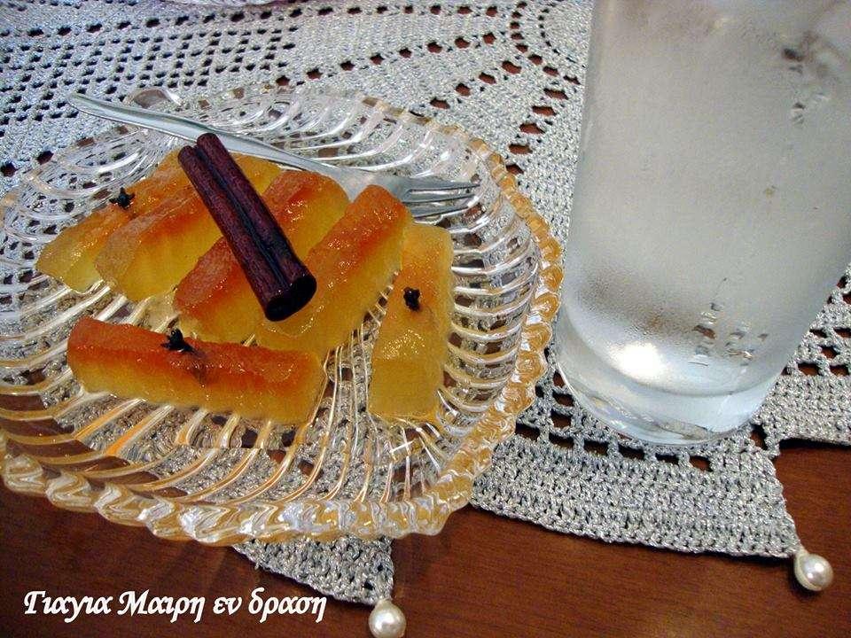 Λαχταριστό γλυκό του κουταλιού καρπούζι!