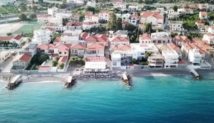 Δερβένι Κορινθίας : Κάθε σπίτι έχει την δική του παραλία ( βίντεο)