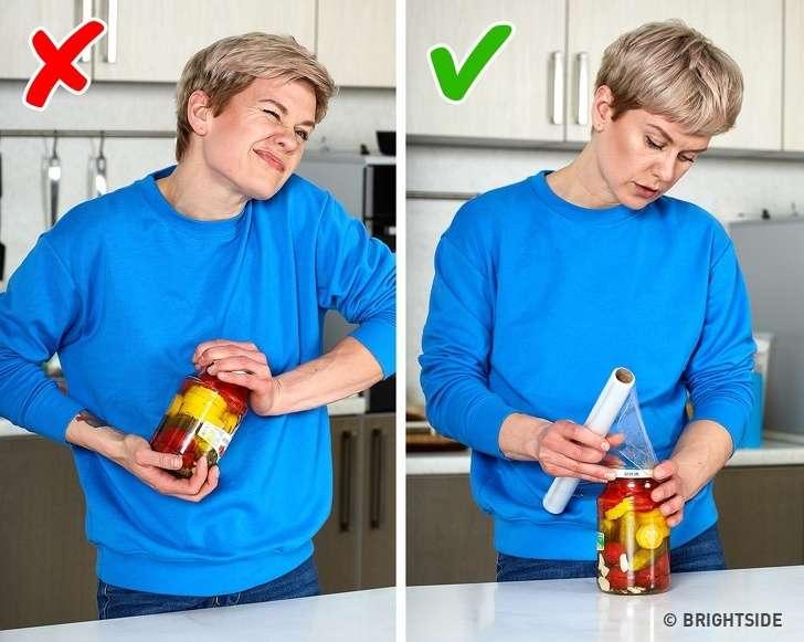 5+1 έξυπνα κόλπα για το σπίτι μόνο με μία πλαστική μεμβράνη