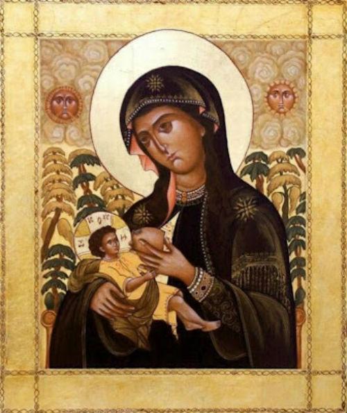 3 /7: γιορτάζεται η Παναγία η Γαλακτοτροφούσα.