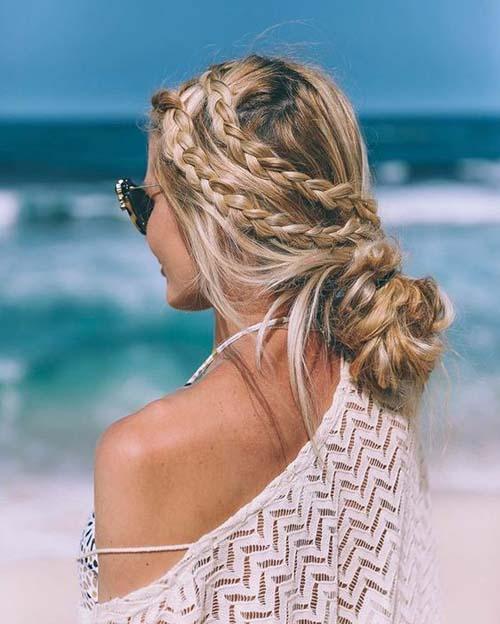 Εκπληκτικά χτενίσματα για παραλία: 34 υπέροχες προτάσεις