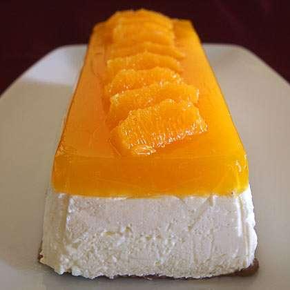 Πολύ εύκολη και ανάλαφρη συνταγή για Τσιζκέικ με άρωμα και ζελέ πορτοκάλι!!