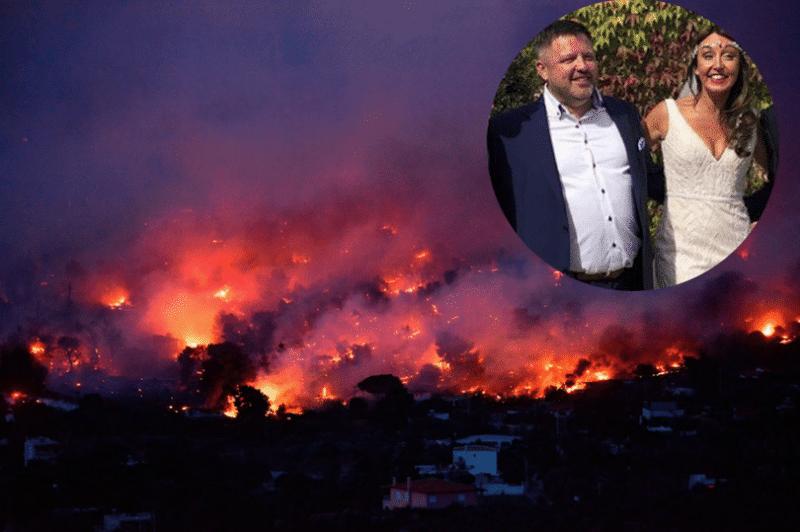 Τραγωδία στο Μάτι: Εντοπίστηκε νεκρός ο Ιρλανδός που είχε έρθει μήνα του μέλιτος στην Ελλάδα!