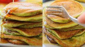 Υγιεινά Pancakes με αβοκάντο και μπανάνα