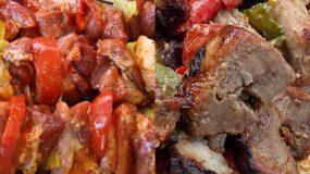 Συνταγή για κοντοσούβλι  χοιρινό φούρνου πεντανόστιμο