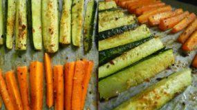 Υγιεινή, Πανεύκολη συνταγή για στικς λαχανικών στον φούρνο!