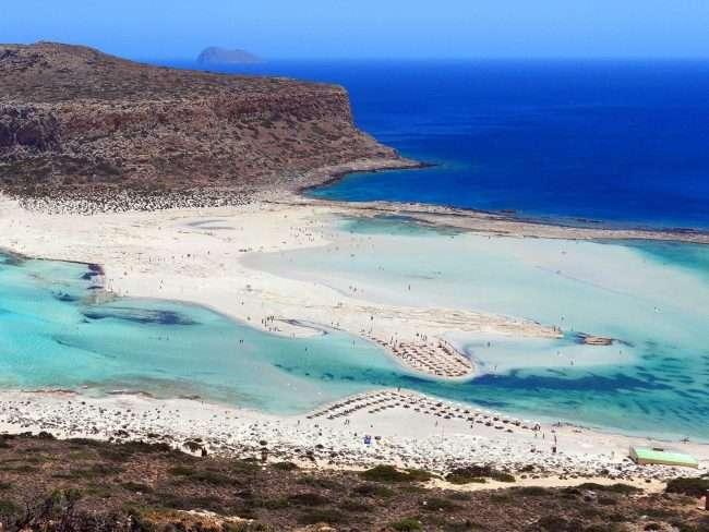 .Φωτογραφία από παραλία της Κρήτης μοιάζει με πίνακα ζωγραφικής