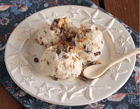 Yπέροχο Frozen yogurt με μέλι, καρύδια και σοκολάτα