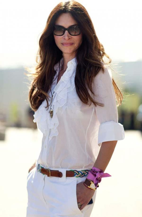 Total white look: 16 εκπληκτικά σύνολα για εντυπωσιακές εμφανίσεις