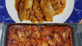 Πεντανόστιμα Καλαμαράκια γεμιστά στον φούρνο !!!