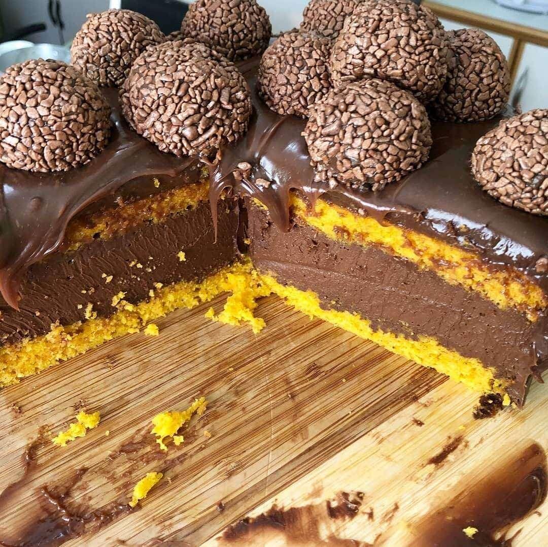 Απίστευτα εύκολο κέικ καρότου με σοκολάτα