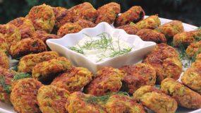 Κεφτεδάκια Λαχανικών στο φούρνο, όνειρο!!!