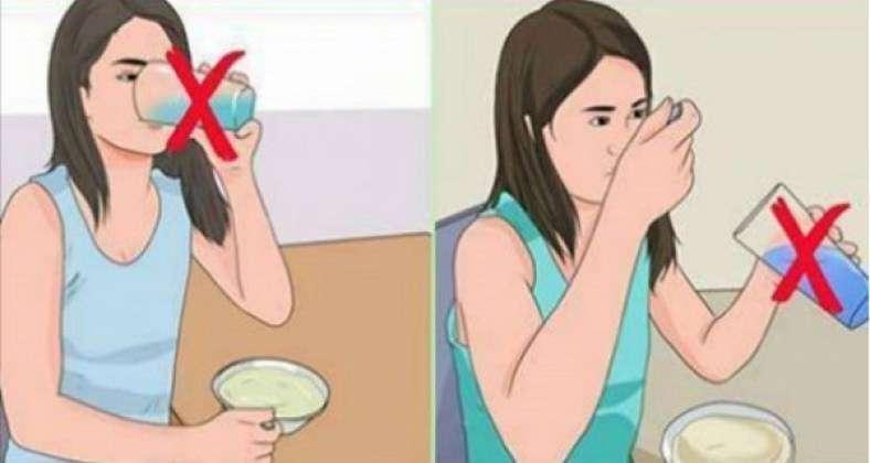 Για αυτό το λόγο ΔΕΝ πρέπει να πίνετε νερό αμέσως πριν και μετά τα γεύματα!