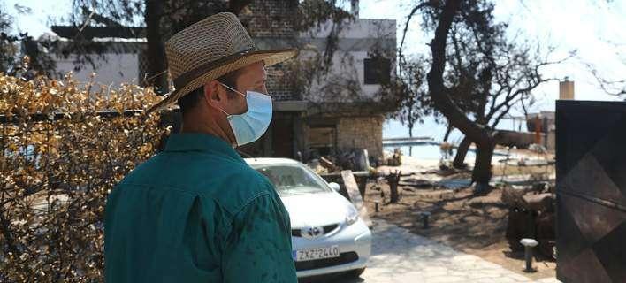 Τοξικός ο αέρας στο Μάτι: Για ποιο λόγο θα πρέπει οι κάτοικοι να κυκλοφορούν με μάσκες; [εικόνες]