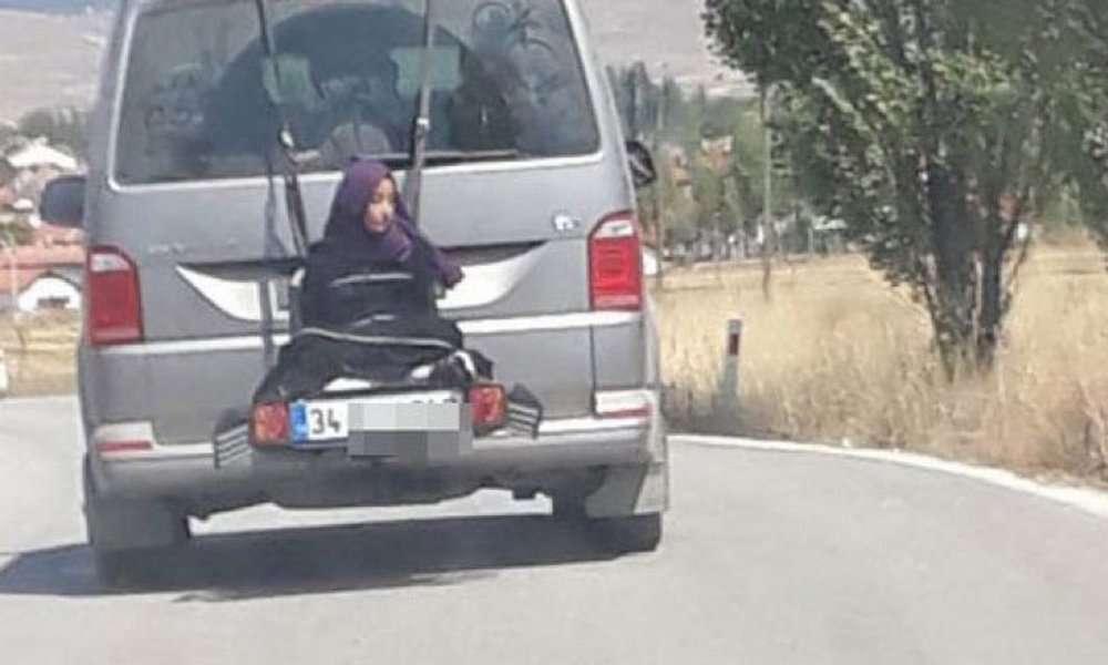 Τουρκία: Πατέρας έδεσε την κόρη του στο πίσω μέρος του αυτοκινήτου! (video)