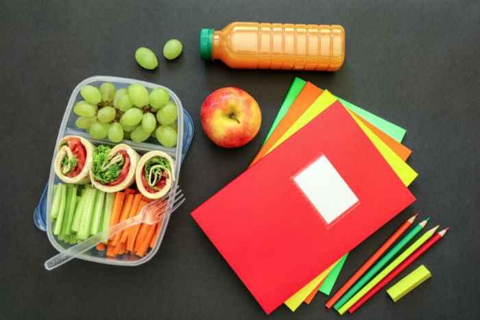 Υγιεινές επιλογές για κολατσιό στο σχολείο!