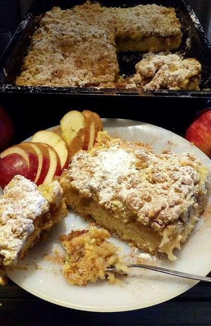 Λαχταριστή μηλόπιτα για κέρασμα σε γιορτή!!
