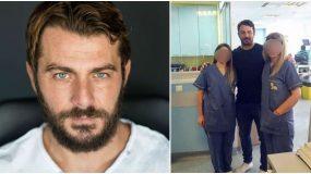 Ο Γιώργος Αγγελόπουλος πηγαίνει συχνά στο Νοσοκομείο Παίδων και επισκέπτεται άρρωστα παιδάκια επειδή τον ζητούν