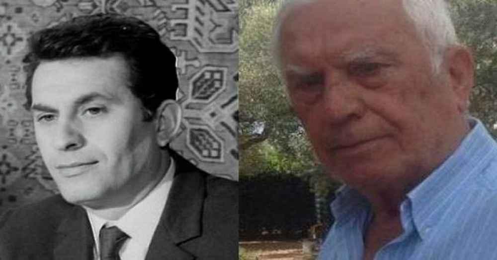 Ο αγαπημένος ηθοποιός Νίκος Ξανθόπουλος ποζάρει στα 84 του με τον εγγονό του και είναι ένας τρισευτυχισμένος παππούς